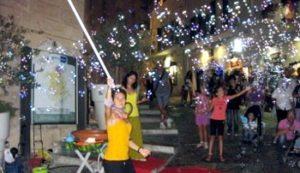 Pilda e polda spettacoli4_animazione_spettacolo_bolle_sapone_Puglia_Bari_Brindisi_Taranto